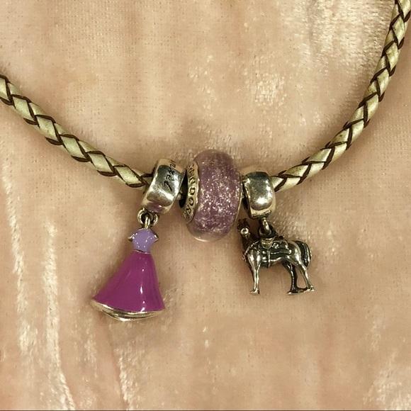 1f2fe2613 Disney Rapunzel Tangled Pandora Charm Set of 3. M_5b7b72a1e9ec8942fe7c5131